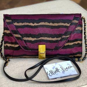 ELLIOTT LUCCA Leather flap crossbody bag